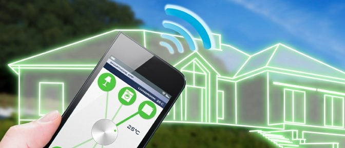 Make Home more Secure with Smart Phone