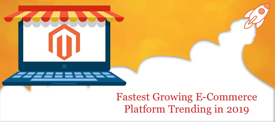 Which is the fastest growing ecommerce platform trending today.