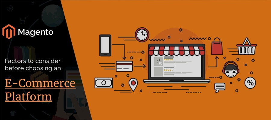 What factors you should keep in mind when you are planning to select an eCommerce platform