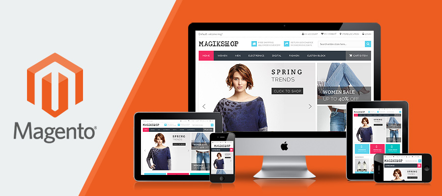Design Responsive And Error Free ECommerce Store With Magento