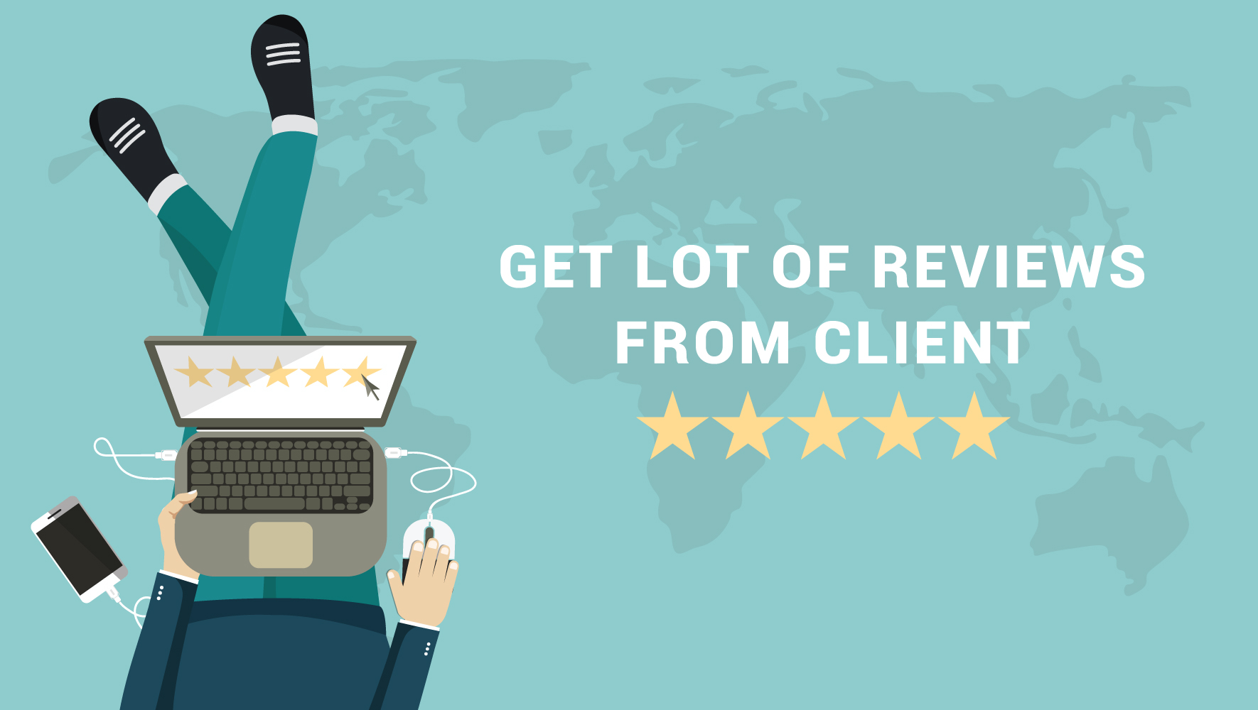 client reviews on how to improve and increase the conversions of an eCommerce website
