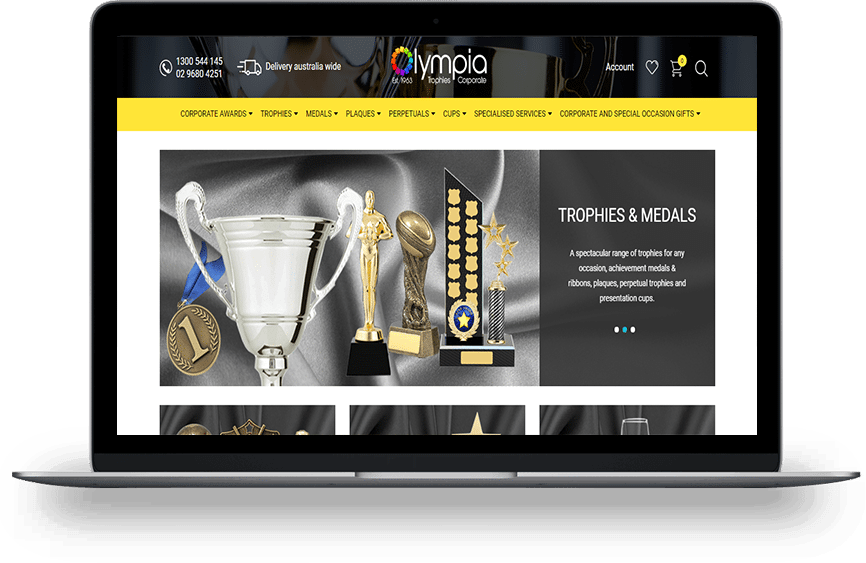 olympia homepage