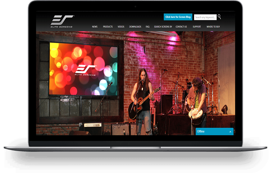 elite home page
