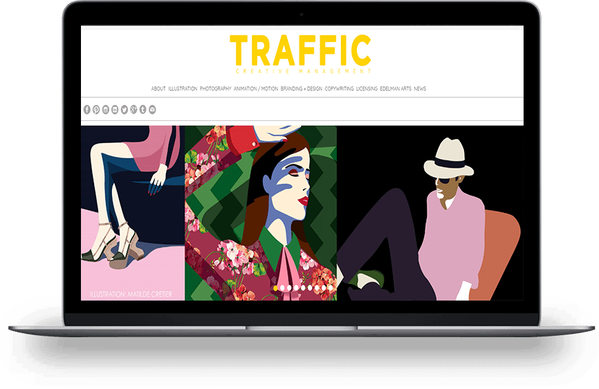 TRAFFIC NYC home page