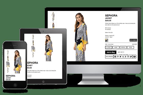 fashion mobile ui/ux