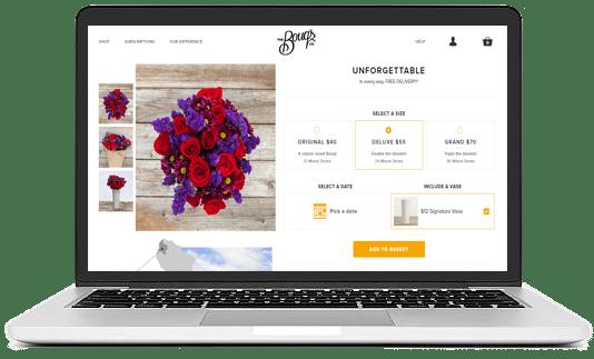floristry ui/ux