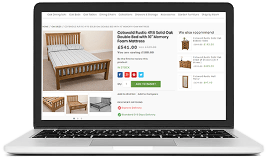 REFURBISH YOUR FURNITURE WEBSITE DESIGN WITH UNIQUE ECOMMERCE FEATURES furniture ui/ux