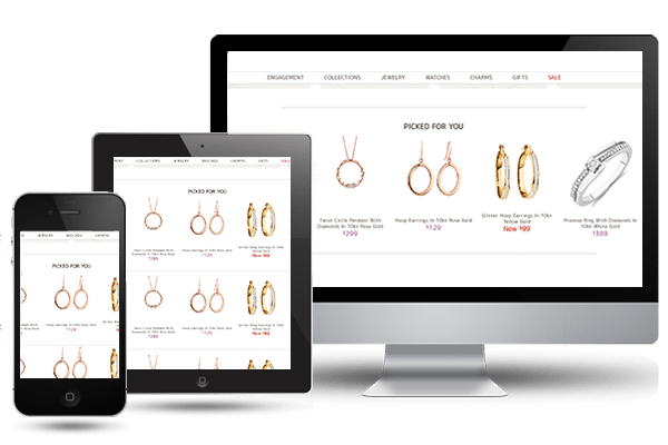 jewelry mobile ui/ux