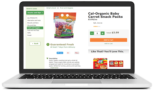 Grocery eCommerce Store Design & Development Agency