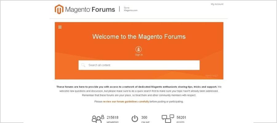 magento forum