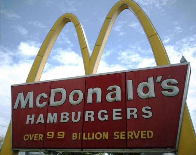 mcdonald brand figure