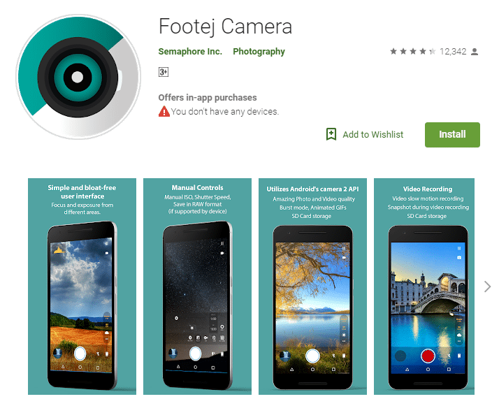 11 Best Android Camera App To Take Quality Pictures In 2019