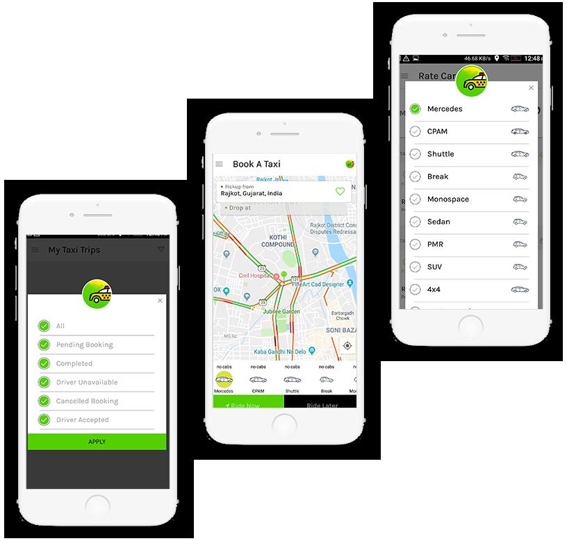 Taxi Booking App Development | Create An App Like Uber, lyft