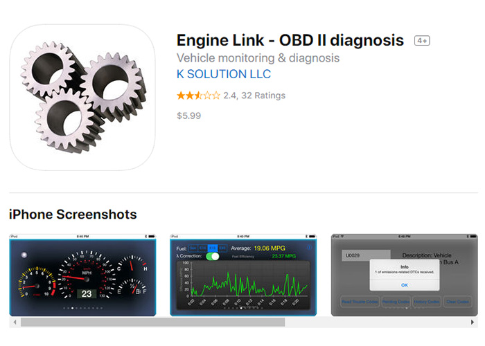 Engine-Link iOS