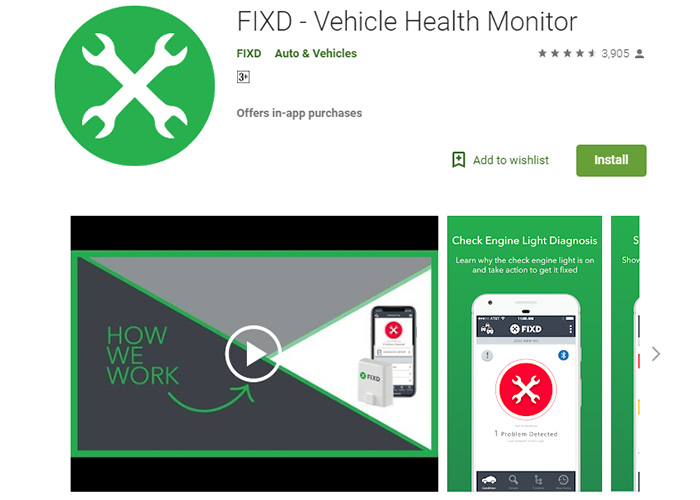 FIXD-Vehicle-Health-Monitor