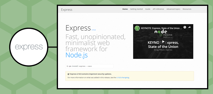 15 Best Node JS Frameworks Used For Web & Enterprise in 2019