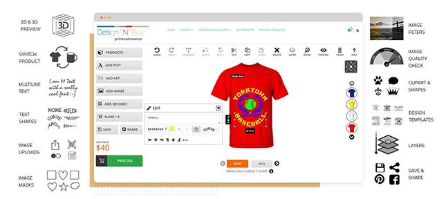 Magento Product Designer By Design'N'Buy