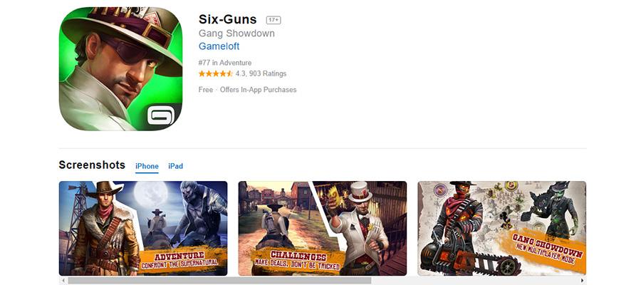 Six Guns: Gang Showdown
