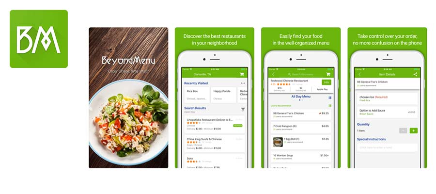 Top 20 Food Ordering Mobile Applications in 2019
