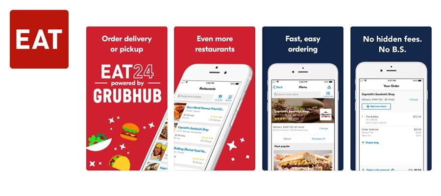 Top 20 Food Ordering Mobile Applications in 2019