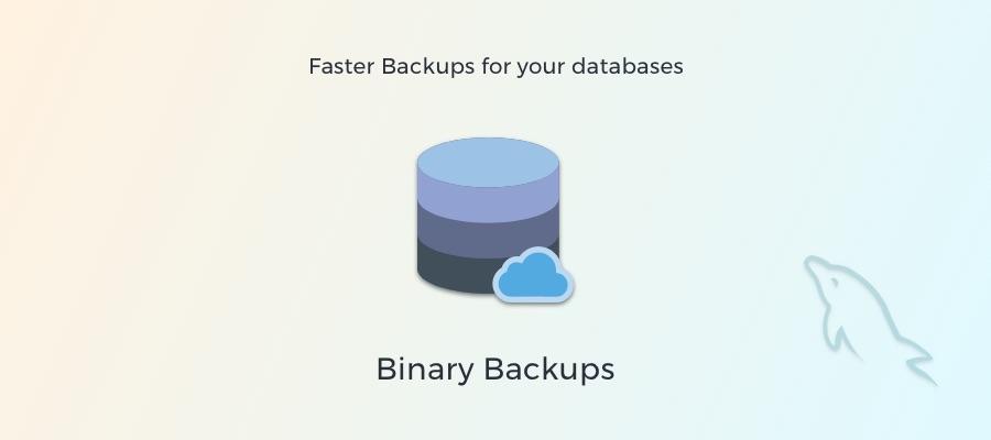 Faster Backups