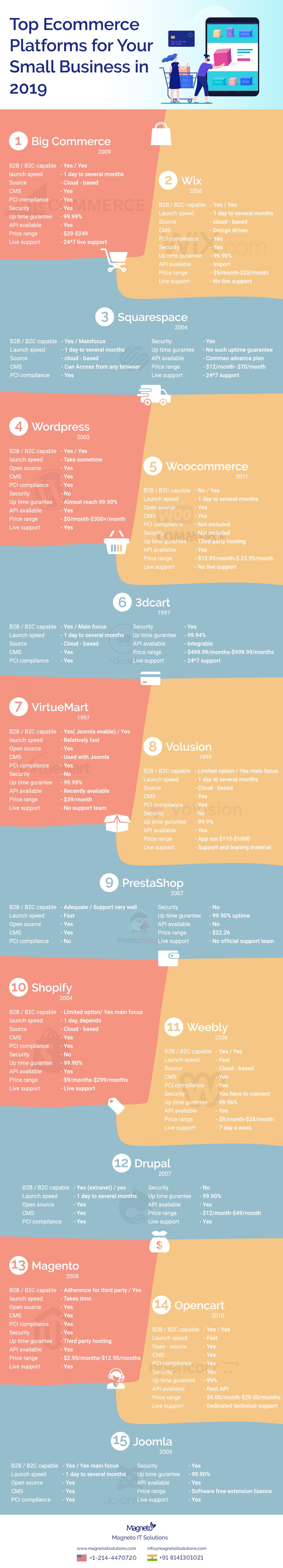 Ecommerce-Platform-Infographic