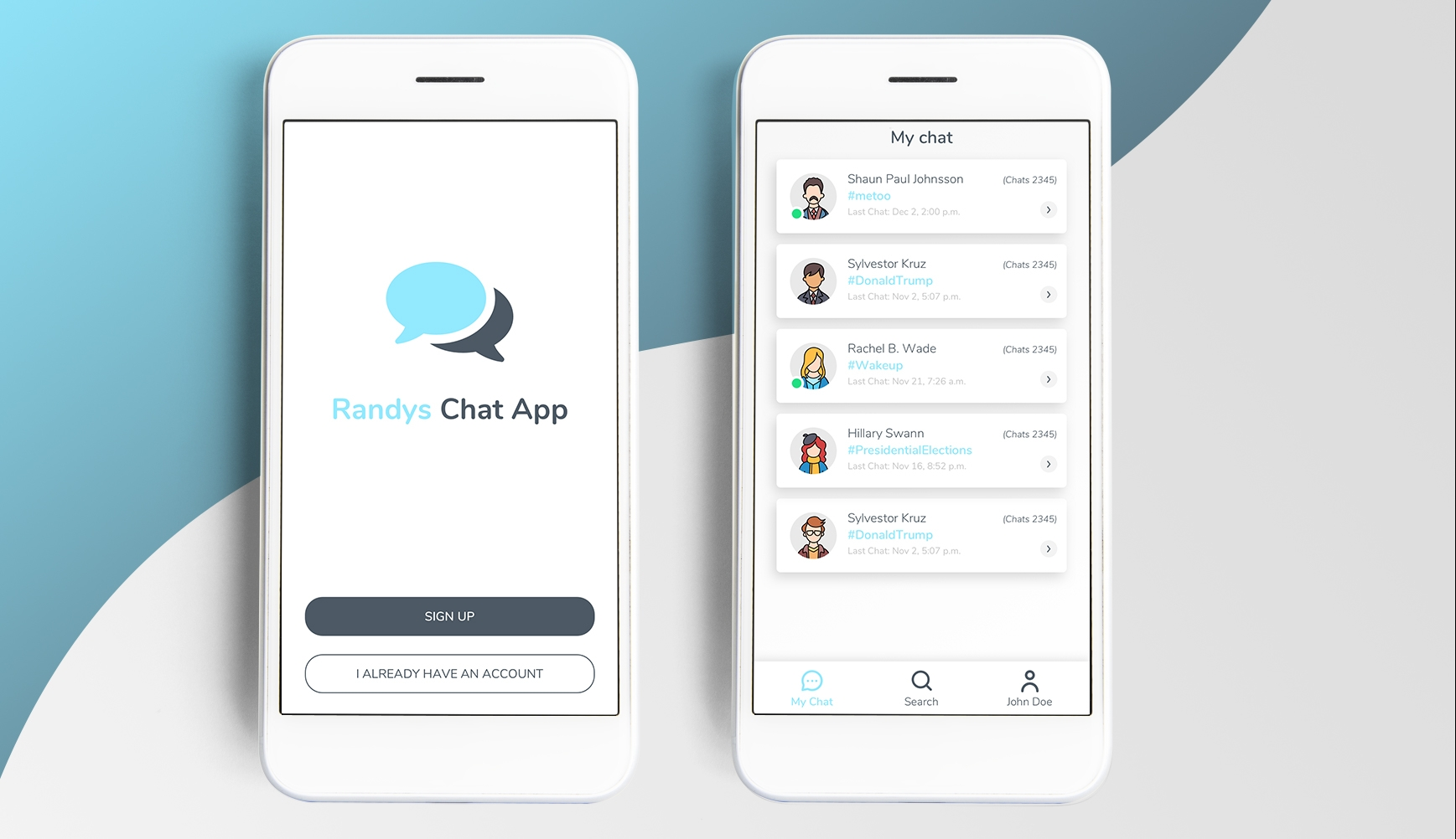 Magento IT Solution Randy Chat Application