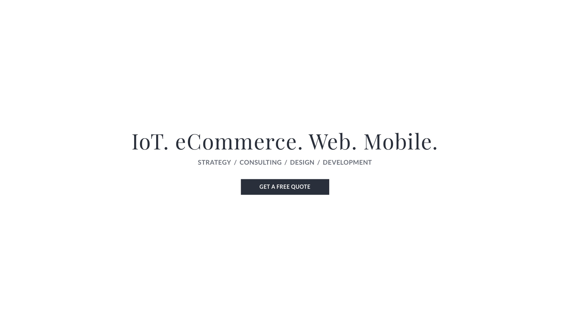 eCommerce Development | Mobile App | Web Design Company