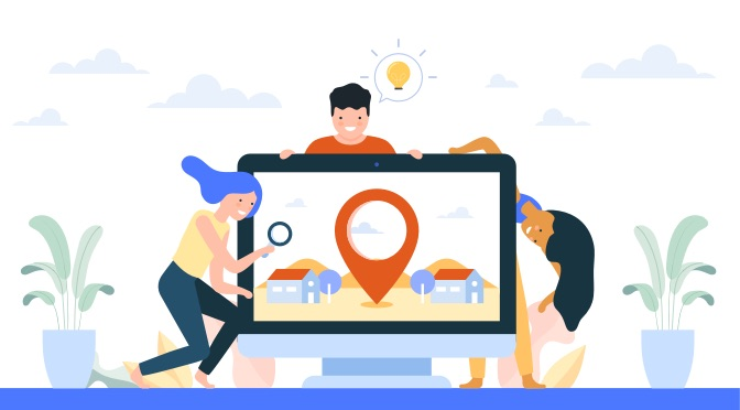 Targeting Your Business Location in Google Map