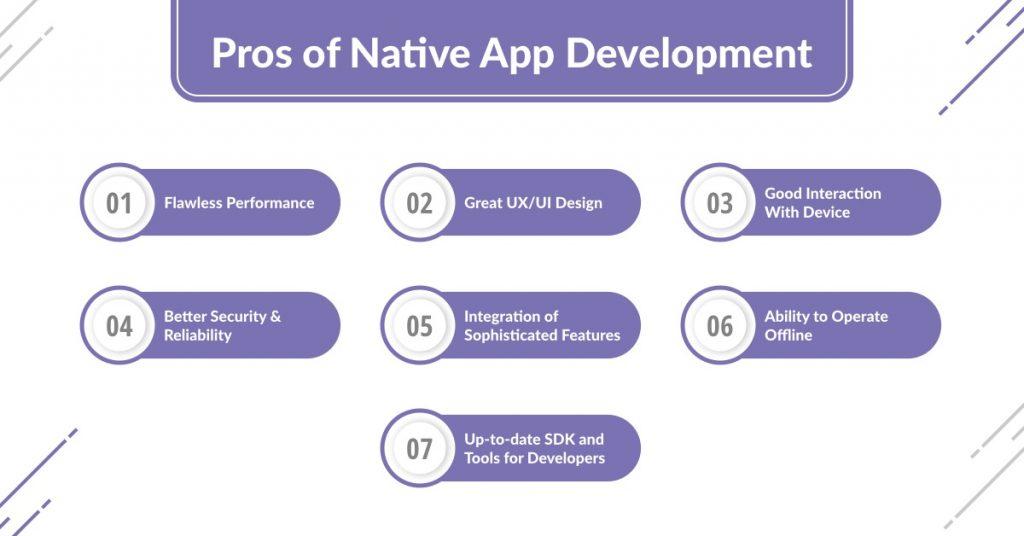 Pros of Native App Development