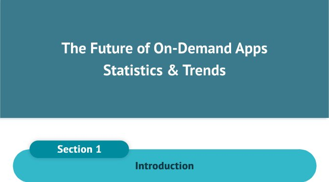 The Future of On-Demand Apps – Statistics and Trends [Infographic]