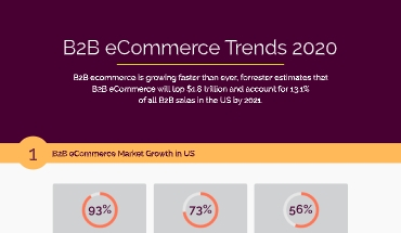 B2B e-Commerce Trends 2020 – Infographic With Statistics (Updated)