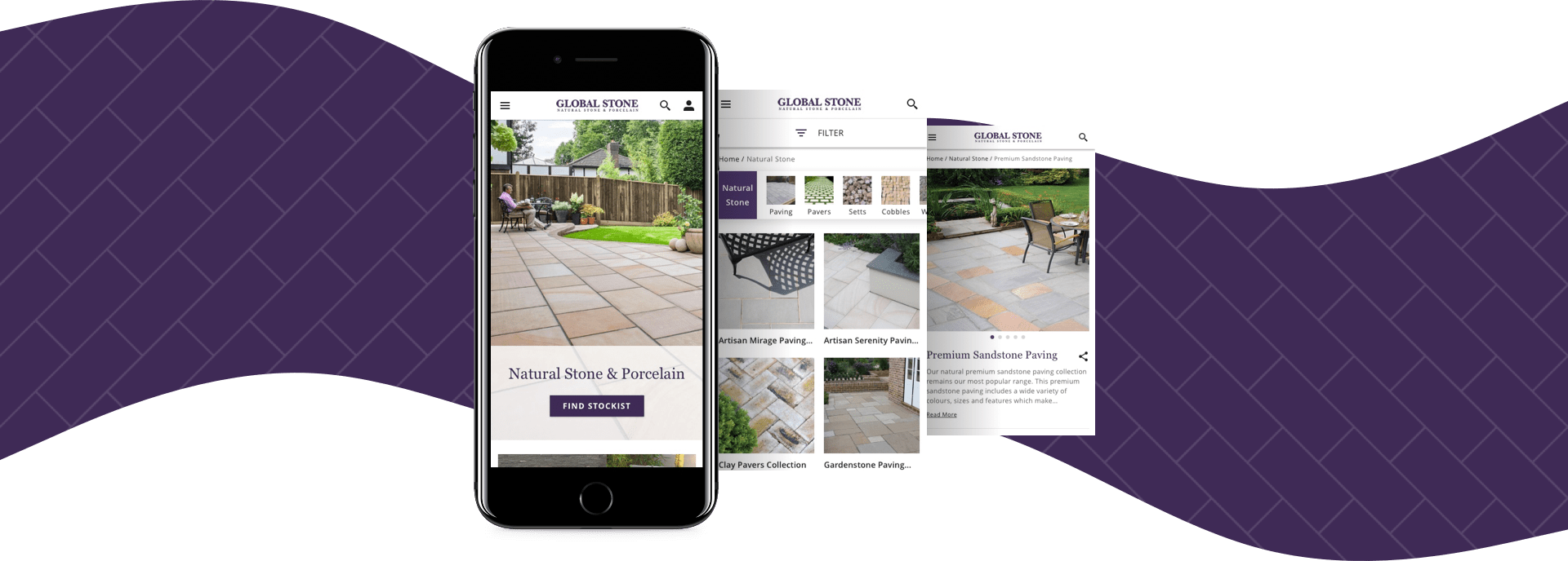 Magento IT Solution Global Stone Paving