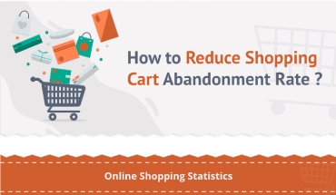 shopping cart abandonment rate infographic